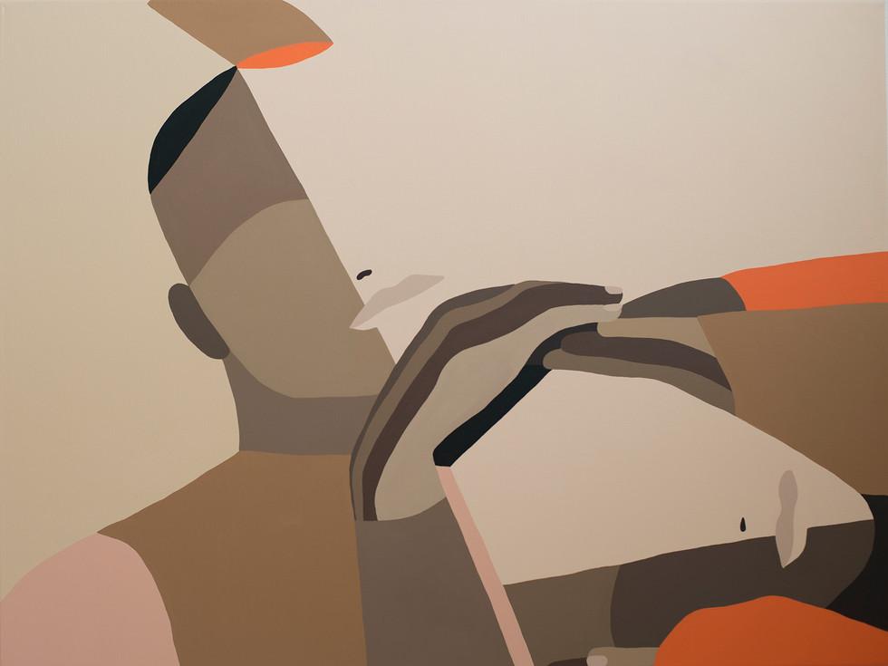 Similar, 2020 (sold) acrylic on canvas 60 x 80 cm