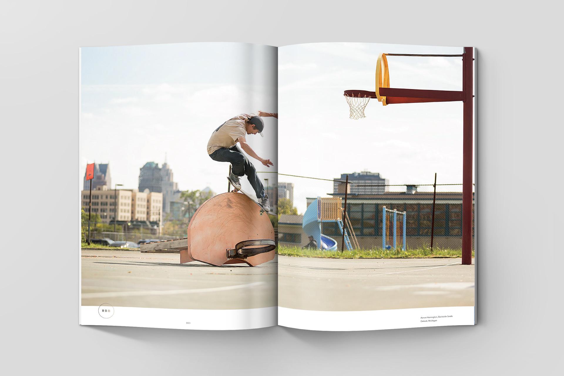 Skateboard mag – Wedge & Lever (CA)