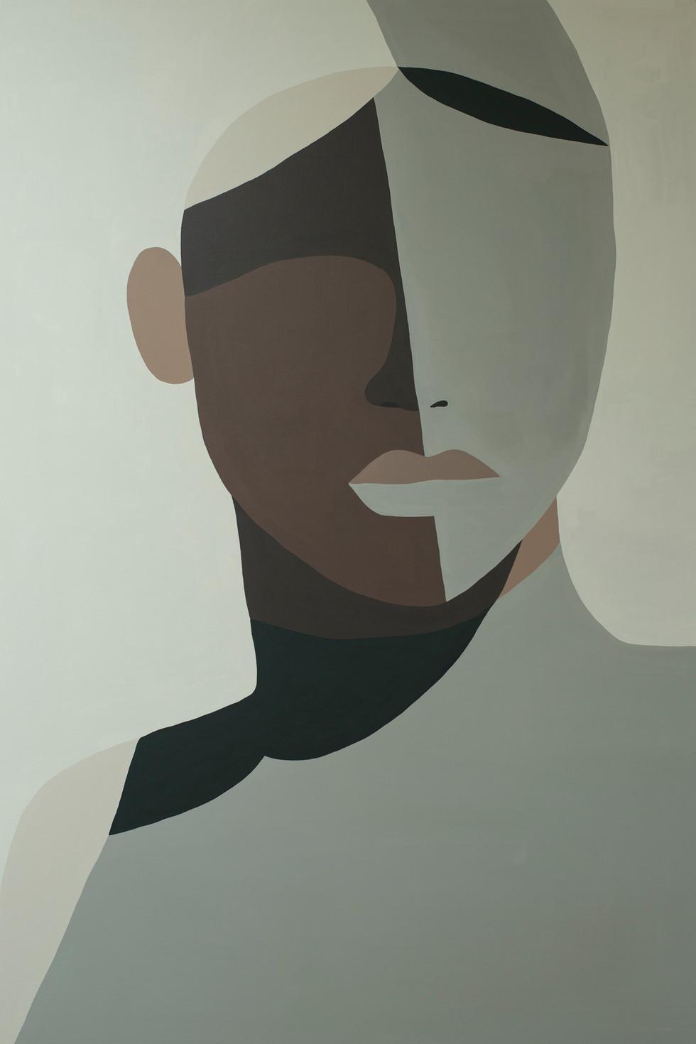Witness, 2020 acrylic on canvas 80 x 120 cm