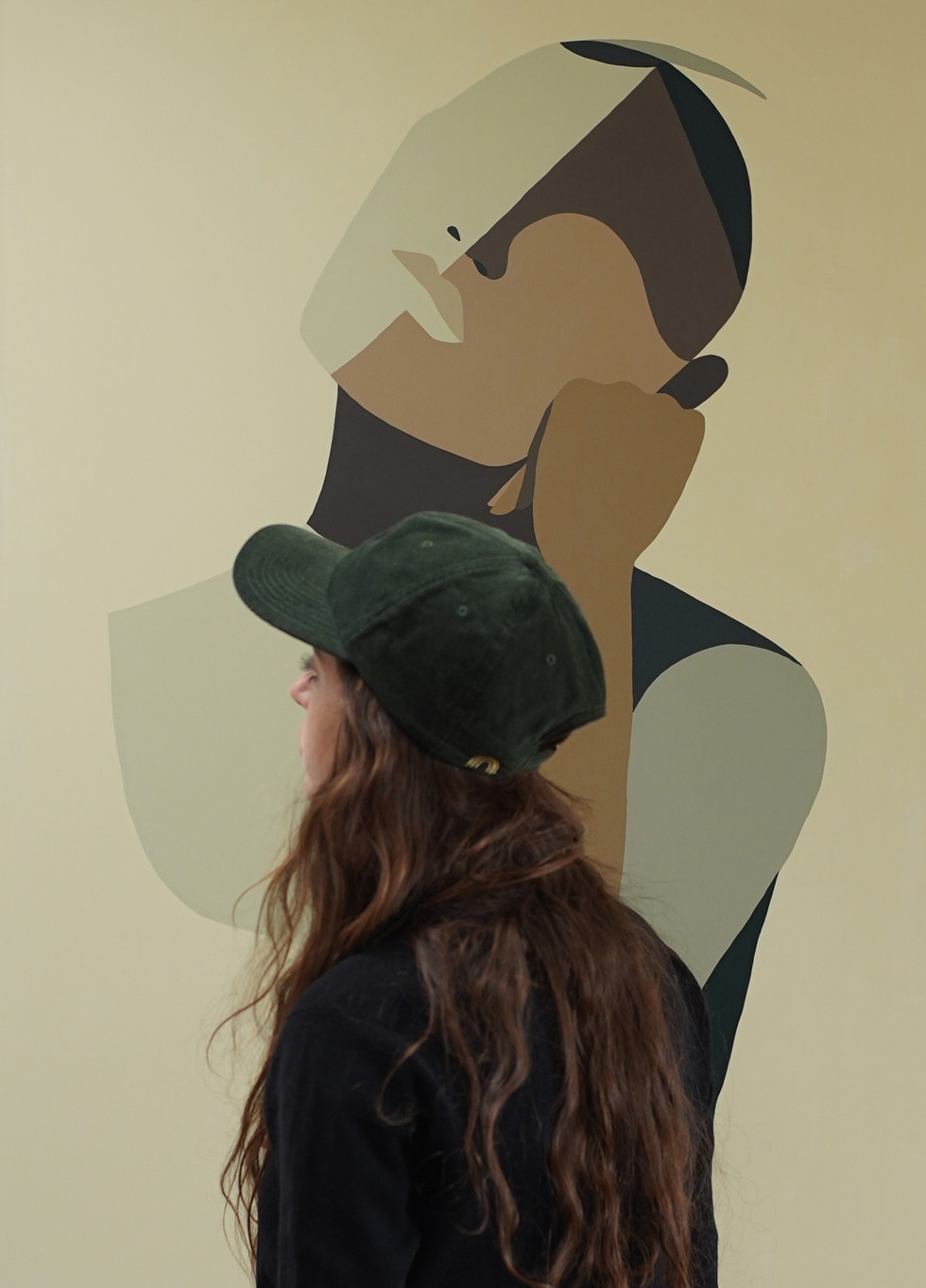 Wonder, 2021 (sold) acrylic on canvas 80 x 120 cm