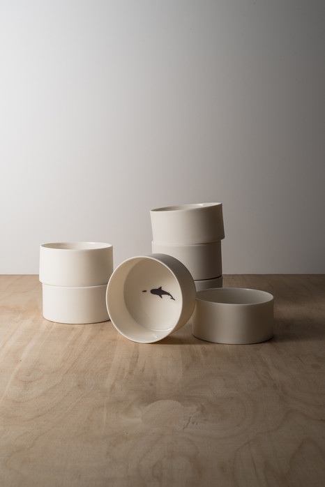 Ceramic pieces, Agathe Naito x Naomi CG D 8,4 cm H 4 cm (7 designs) CHF 45
