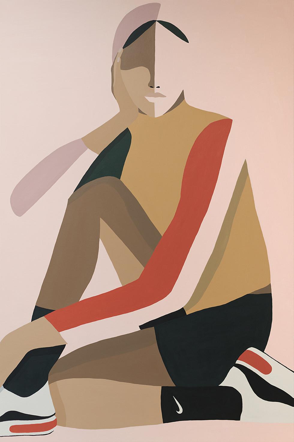 Gold Standard, 2020 acrylic on canvas 80 x 120 cm