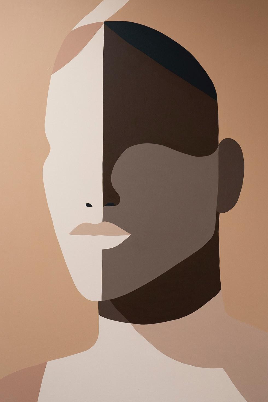 STEADFAST, 2021 acrylic on canvas 80 x 120 cm