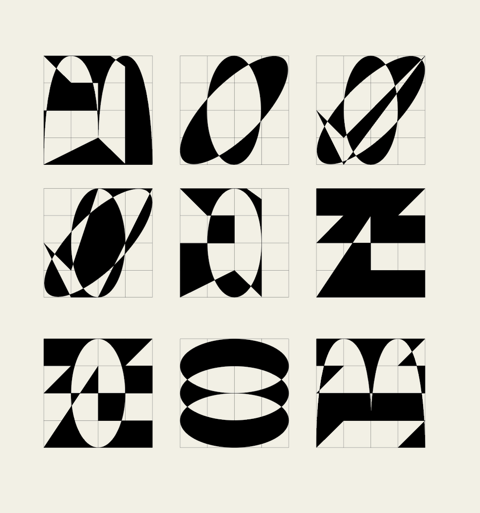 Graphic forms and symbols research, 2021