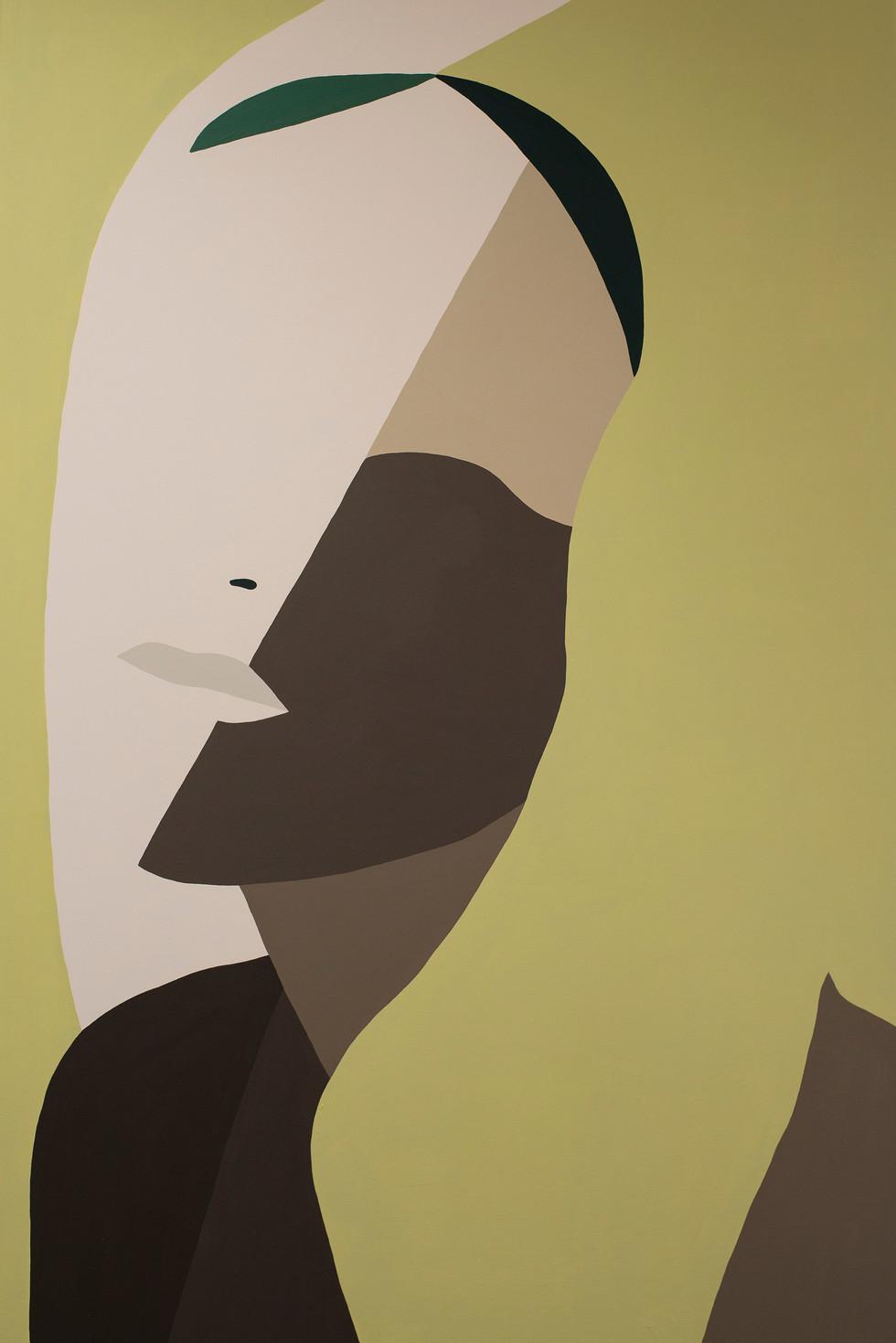 Wide, 2020 acrylic on canvas 80 x 120 cm