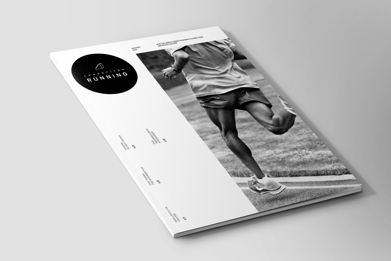 Competitor running magazine