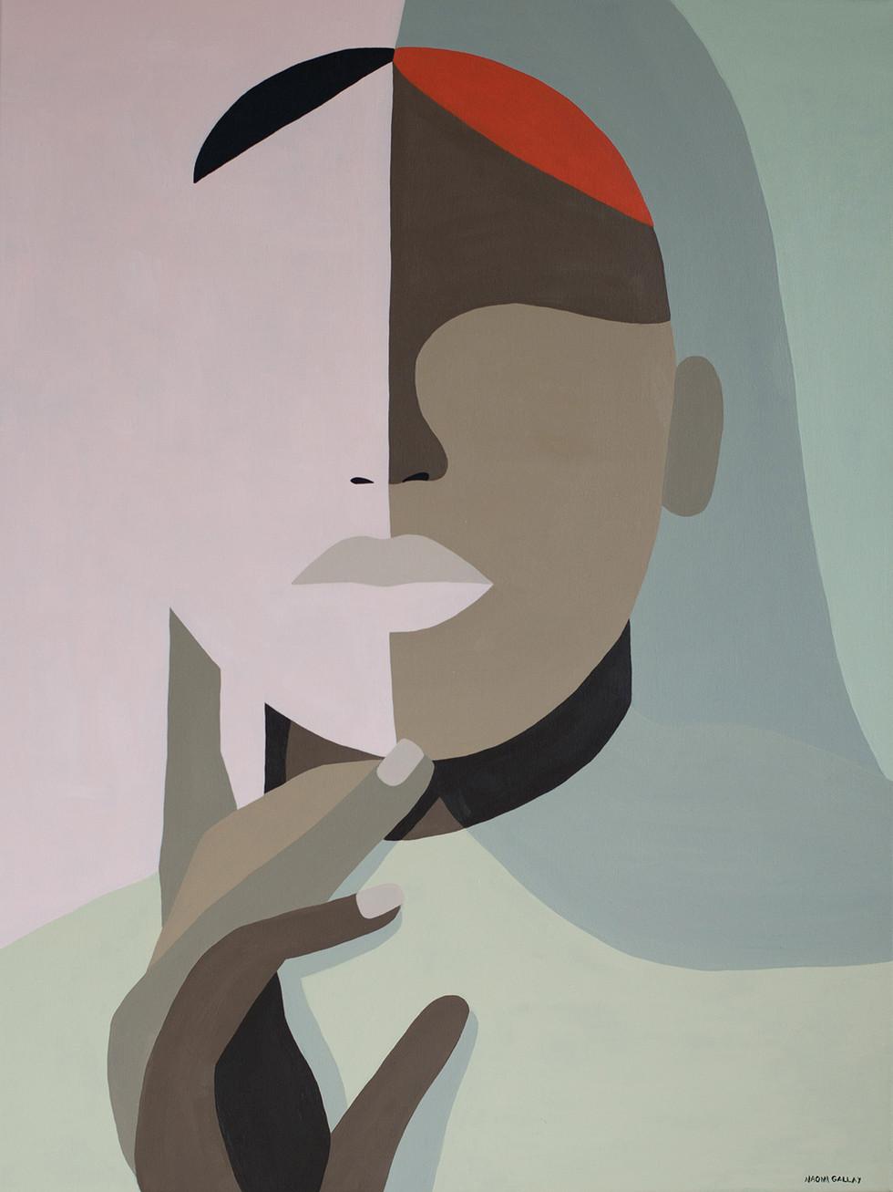 Mexical Rose, 2020 acrylic on canvas 60 x 80 cm