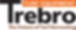 trebro manufacturing logo orange white b