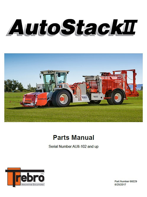 66029 AutoStack II Parts Manual (digital download)