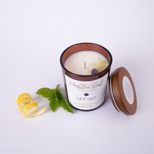 Let Go Aromatherapy soy wax candle
