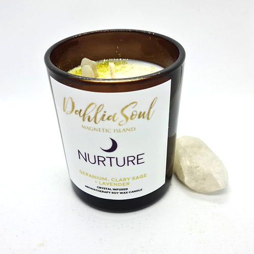 Nurture Aromatherapy soy wax candle