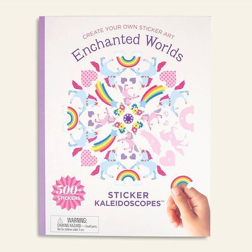 Enchanted Worlds – Kaleidescope Sticker Book with Ginalina Stickers