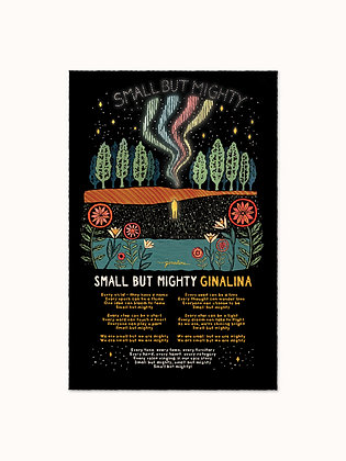 """Small But Mighty 11""""x17"""" Posters (2)"""