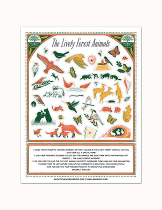 The Lively Forest Lesson Plan