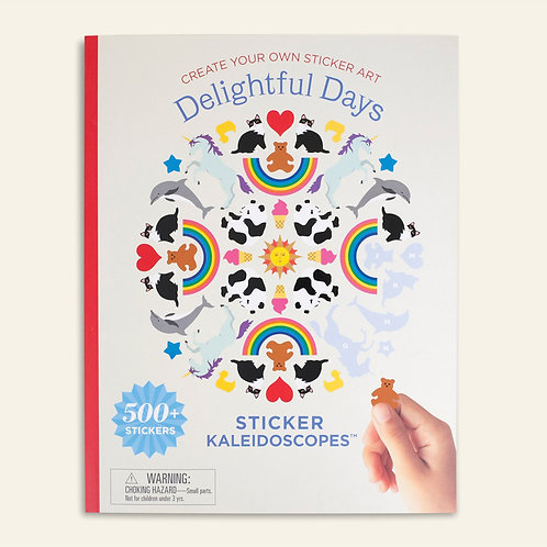 Delightful Days – Kaleidescope Sticker Book with Ginalina Stickers