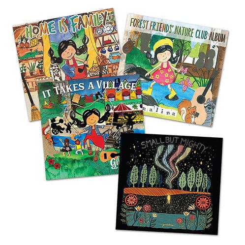 Ginalina Music Collection – 4 Albums