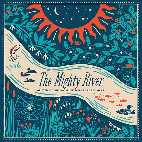 The Mighty River Book - Soft Touch Cover - Soft Cover