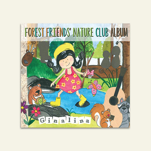 Forest Friends' Nature Club CD