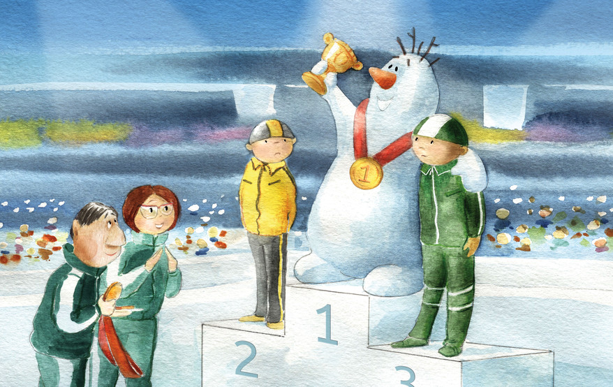 Silver Medal in the Moonbeam Awards Contest in the Best Picture Book Series