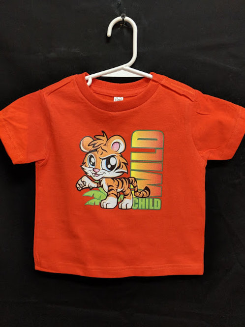 Wild Thing Tiger Youth Onesie