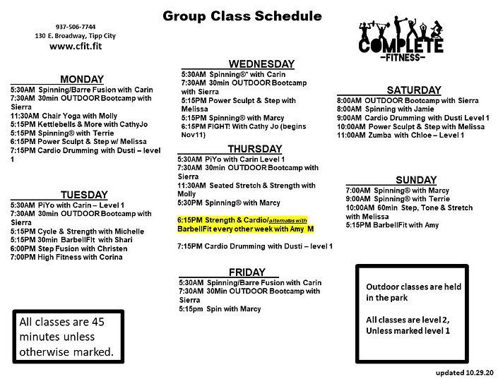 Class Schedule- 10.29.20  black & white.