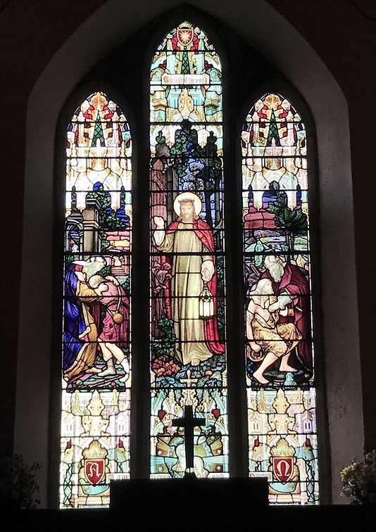 Stain glass window, Clonakilty Church, Kilgarriffe Church