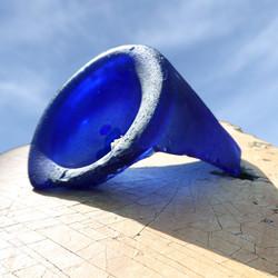 Blue bottle punt