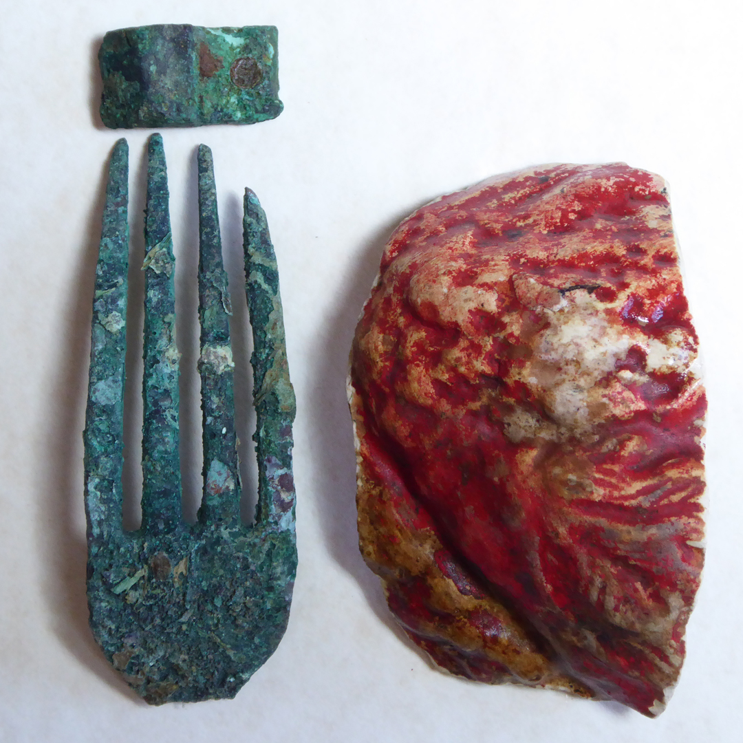 Red shard and fork