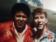 David L Cook and Chubby Checker