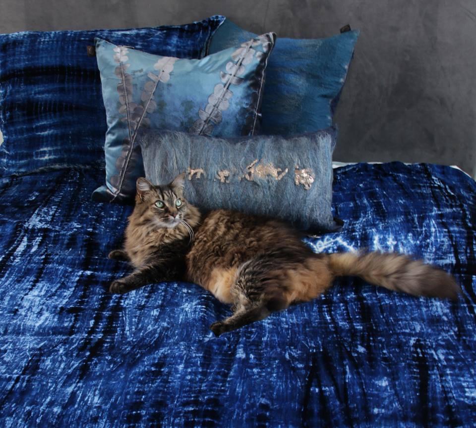 Aviva Stanoff pillows at Magnolia Emporium