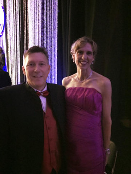 David L Cook and Charlotte Mayor Jennife