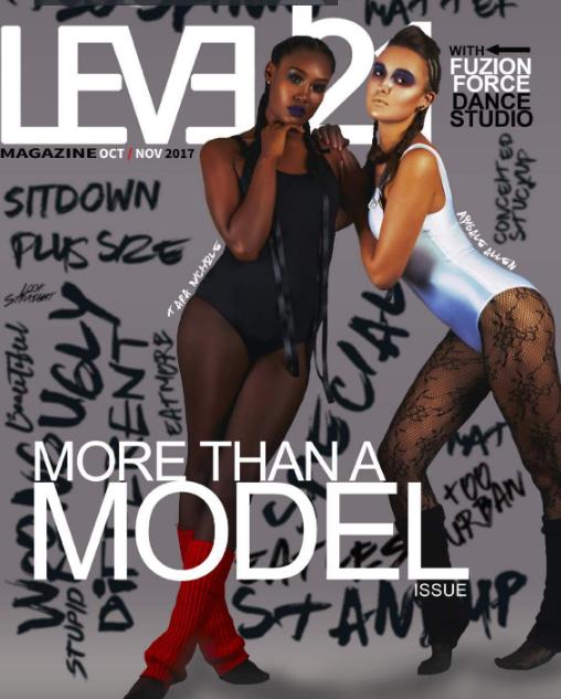 Magnolia Emporium full page layout showcased in Level 21 Magazine