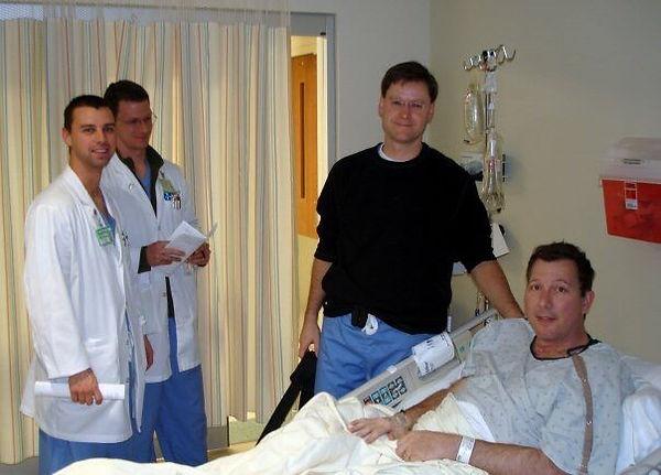 David L Cook undergoes throat surgery fo