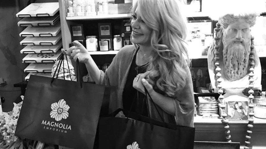Reality TV Personality Charlotte Fashion Plate Shops at Magnolia Emporium