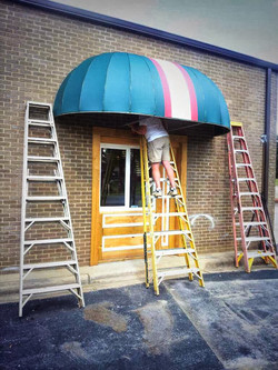 New Awning