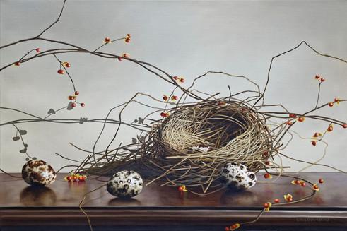 Loren Dibenedeito Nest and Bittersweet O