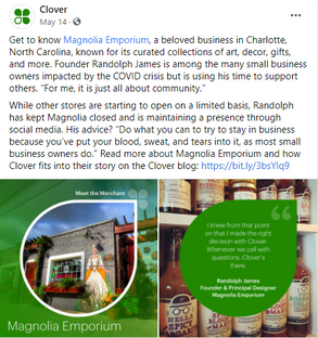 Meet the Merchant by Clover Commerce