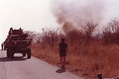 david in zimbabwe for bob hope uso tour.