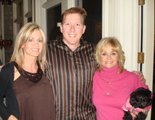 David Cook with Irlene and Barbara Mandrell