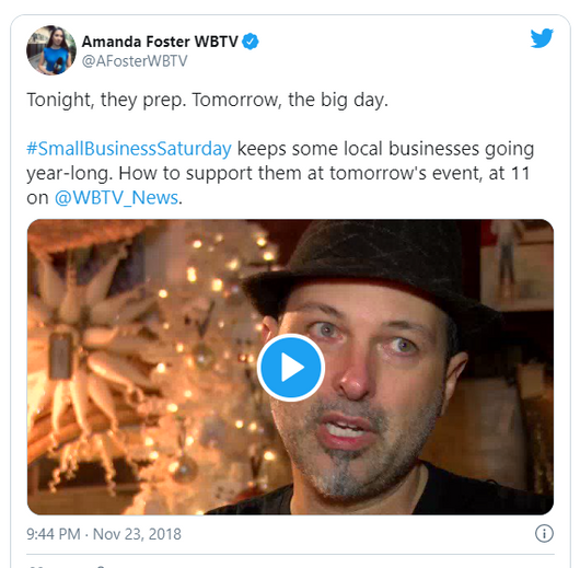 Magnolia Emporium on WBTV with Amanda Foster