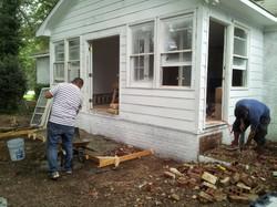 Remodeling a Former Porch