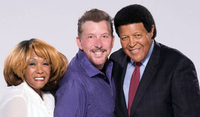 David L Cook with Dee Dee Sharp and Chubby Checker