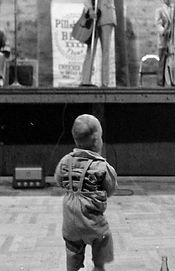 David L Cook, age 1 at Grand Ole Opry