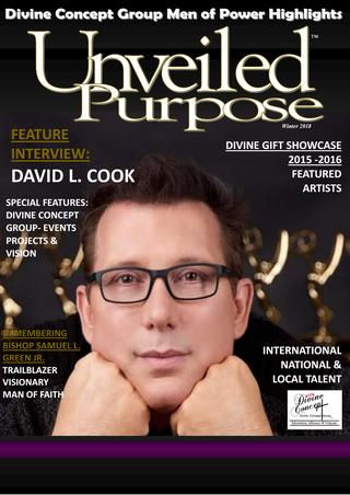 David L Cook in Unveiled Purpose