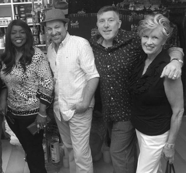 Grammy Winning Music Legend Gloria Gaynor Shops at Magnolia Emporium with Multi Platinum Star David L Cook