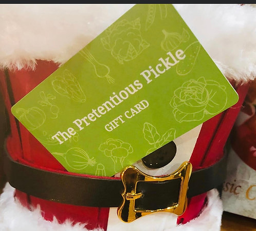 Gift certificate  **PLEASE CALL TO ORDER**