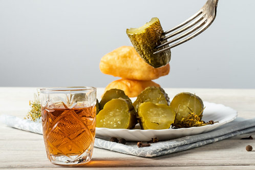 Damn Good Whiskey Pickle  16oz