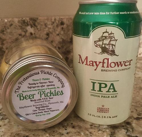 Mayflower Beer Pickle  16oz