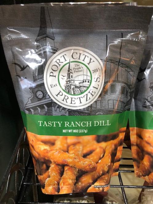 Dill Ranch flavored Pretzels