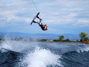 Enjoy watersports with you friends and family on Lake Harmony. Watersports include; wakeboarding, waterskiing, and tubbing